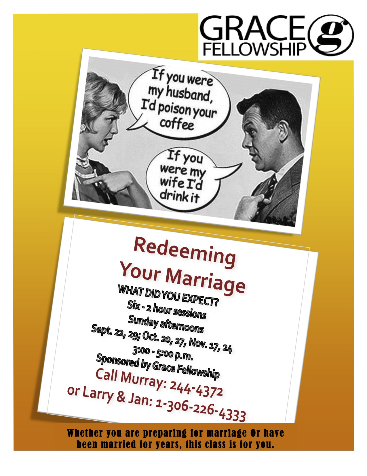 Redeeming Your Marriage poster 2013