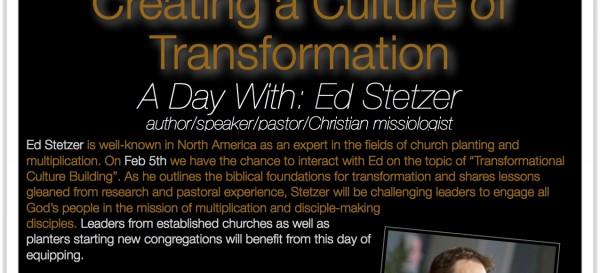 Ed Stetzer Feb 5, 2014